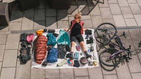 Bikepacking Packing List Set Up