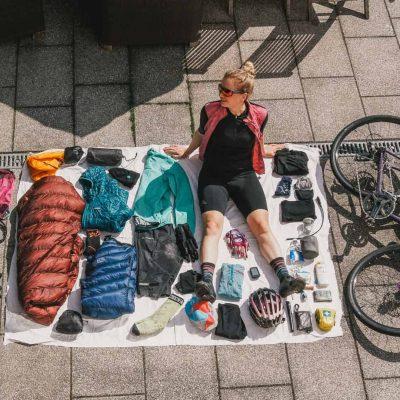 Bikepacking Packliste Set Up Sandra